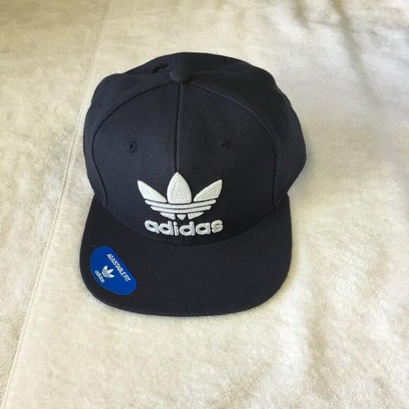 314da34ef25 adidas Men s Originals Snapback Flatbrim Cap NEW